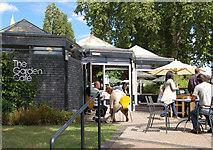 TQ2882 : The Garden Cafe, Inner Circle, Regents Park by Andy F