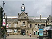 SD6922 : The Town & Market Hall, Darwen, Lancashire by Richard Rogerson