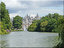 TQ2979 : Lake, St James's Park, London SW1 by Christine Matthews