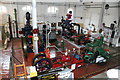 TQ8117 : Assorted steam engines and pumps by Chris Allen