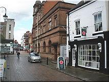 SJ3350 : Church Street, Wrexham by Roger Cornfoot
