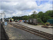 TQ3729 : Approaching Horsted Keynes Carriage and waggon Works by Chris Allen
