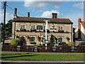 TL9165 : The Fox and Hounds public house, Thurston by John Goldsmith