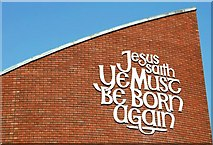 J3573 : The Albert Bridge Congregational Church, Belfast (2) by Albert Bridge
