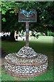 TF9616 : Village sign by Craig Tuck
