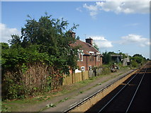 TM4598 : Railway cottages by Ashley Dace