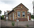 TM1697 : Ashwellthorpe railway station - now a private dwelling house by Evelyn Simak