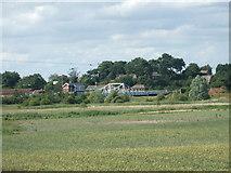 TG4201 : Reedham Swing bridge by Ashley Dace
