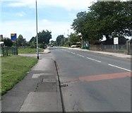 SD3648 : The B5270 heading towards Knott End by James Denham