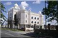 SP3164 : Sikh Temple, Tachbrook Park Drive, Leamington Spa by Robin Stott