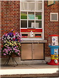 SY9287 : Wareham: postbox № BH20 401, North Street by Chris Downer