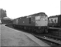 NN1073 : Diesel locomotives at  Fort William by Dr Neil Clifton