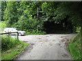 SM9202 : Lane & Church Car Parking, Pwllcrochan by Peter Whatley