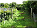 SM9711 : Footpath Access, Hook by Peter Whatley