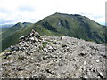 NN6240 : Beinn Ghlas Summit Cairn by G Laird