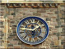 J3373 : Clock, Church House, Belfast (2) by Albert Bridge