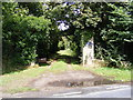 TM3869 : Entrance to the Cemetery, Yoxford by Adrian Cable