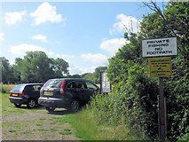 SP9113 : The Car Park of Tringford Reservoir Trout Fishery by Chris Reynolds