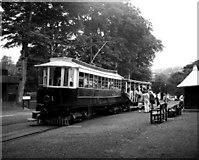 SC4384 : Laxey station, Manx Electric Railway by Dr Neil Clifton