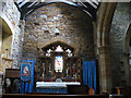 NU0528 : Chatton, Holy Cross: side chapel by Stephen Craven