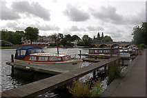 SU7682 : The River Thames at Henley by Roger Davies