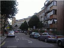 TQ2684 : Council flats Lithos Road by David Howard