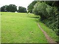 TG3107 : Public footpath to Surlingham church by Evelyn Simak