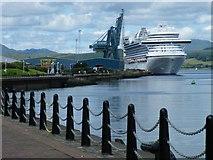 NS2876 : Crown Princess at Greenock Ocean Terminal by Thomas Nugent