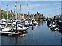 SC2484 : Peel harbour by Dave Pickersgill