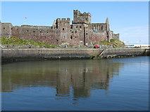 SC2484 : Peel Castle by Dave Pickersgill