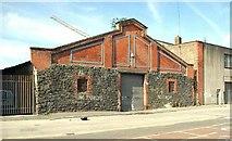 J3474 : Disused warehouse, Belfast (2) by Albert Bridge