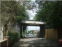 SO9399 : Grove Street Railway Bridge by John M