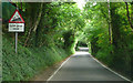 TQ4460 : Downe Road - Steep Hill 25% by Adam Morse