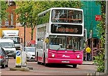 J3372 : Four Winds bus, Belfast by Albert Bridge