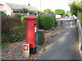 SZ0592 : Branksome: postbox № BH12 173, Alder Road by Chris Downer