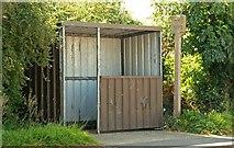 J2153 : Bus stop, Dromore by Albert Bridge