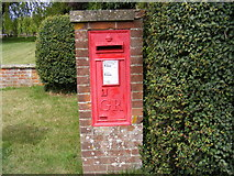 TM3959 : Church Common George V  Postbox by Geographer