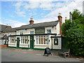 SP0549 : The Golden Cross Inn by Sarah Ganderton