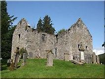 NN8666 : St. Bride's , or St. Bridget's church by ronnie leask