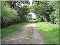 SJ4072 : Bridleway and Private Drive by David Quinn
