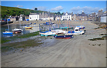 NO8785 : Low tide at the Stonehaven Inner Harbour by C Michael Hogan