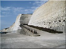 TQ4100 : Cliffs at Peacehaven by Paul Gillett