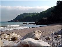 SX9364 : Redgate Beach, Torquay by Robin Stott