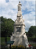 SJ3595 : The Poulsom Memorial, Derby Park by Sue Adair