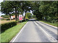 TM4384 : A145 London Road,  Shadingfield by Adrian Cable