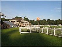 NO1027 : Winning post, Perth Racecourse by Richard Webb