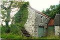 H0765 : Roadside Barn near Belalt by louise price