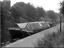 SK5803 : Narrow boats at Leicester by Dr Neil Clifton
