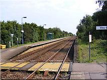 TM4598 : Haddiscoe Railway Station by Adrian Cable