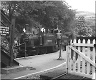 SH6441 : Festiniog Railway station at Tan y Bwlch by Dr Neil Clifton